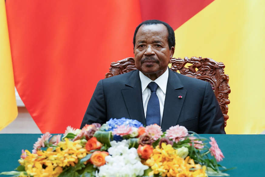 President of Cameroon Paul Biya