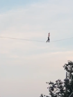 Man completes terrifying 'tightrope' stunt over Moscow's main street