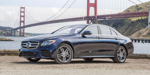 2018 Mercedes-Benz E-class sedan: Exceptional, Extravagant, and Expensive: Those who value a sumptuously appointed cabin, elegant styling, and a pillow-soft ride should look no further than the Mercedes-Benz E-class.