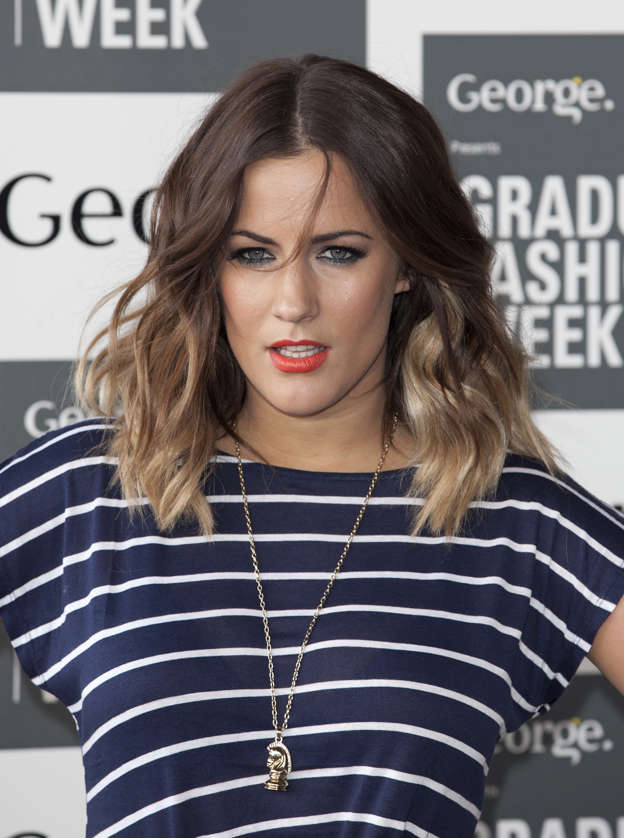 Caroline Flack Attending The Opening Of Graduate Fashion Week, At Earl'S  Court In West London