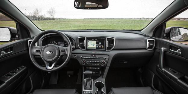 2019 Kia Sportage Interior And Passenger Space