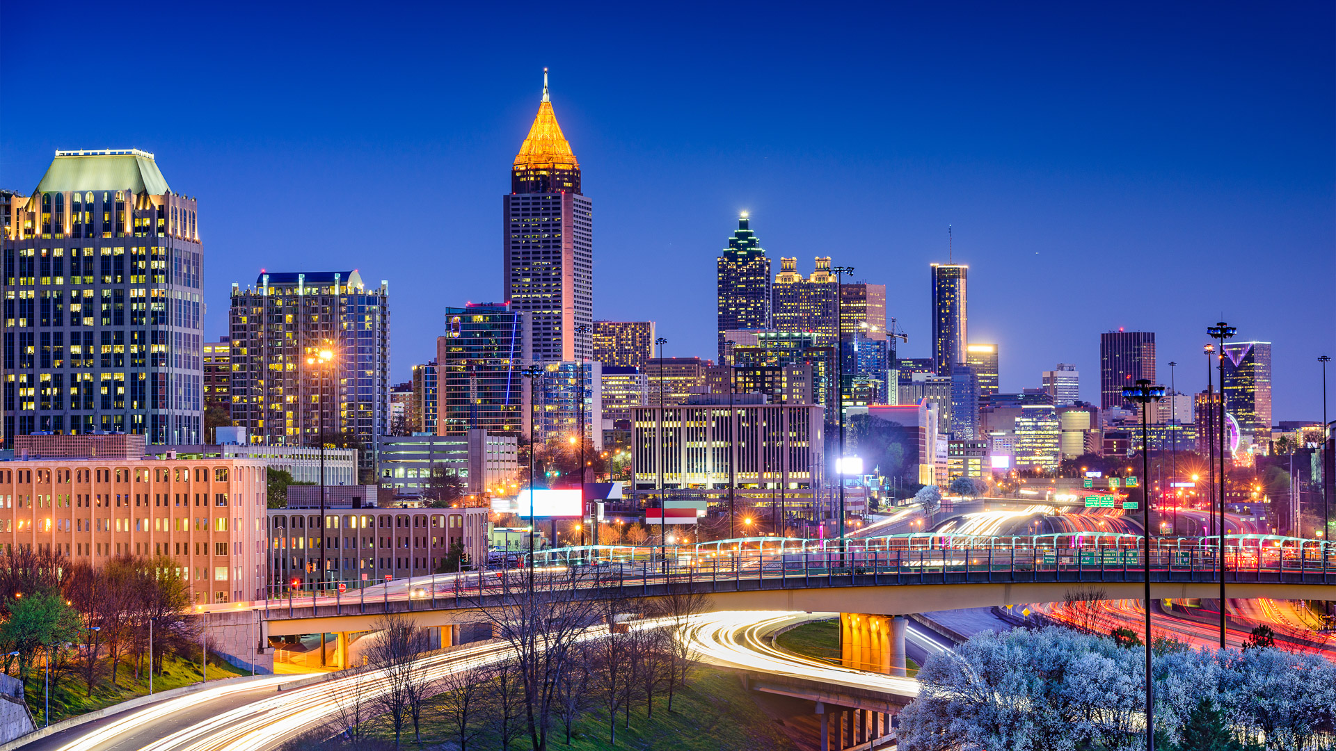 Slide 16 of 32: Meals: $330Drinks (including beer): $483-night hotel stay: $425Airfare: $722.32Atlanta is one of the destinations that is getting cheaper to visit. To save money on transportation during your trip, move around Atlanta with MARTA. One-way fares for the transit system are $2.50 each. Visitors who plan to take the train often might want to invest in a three-day pass for $16.