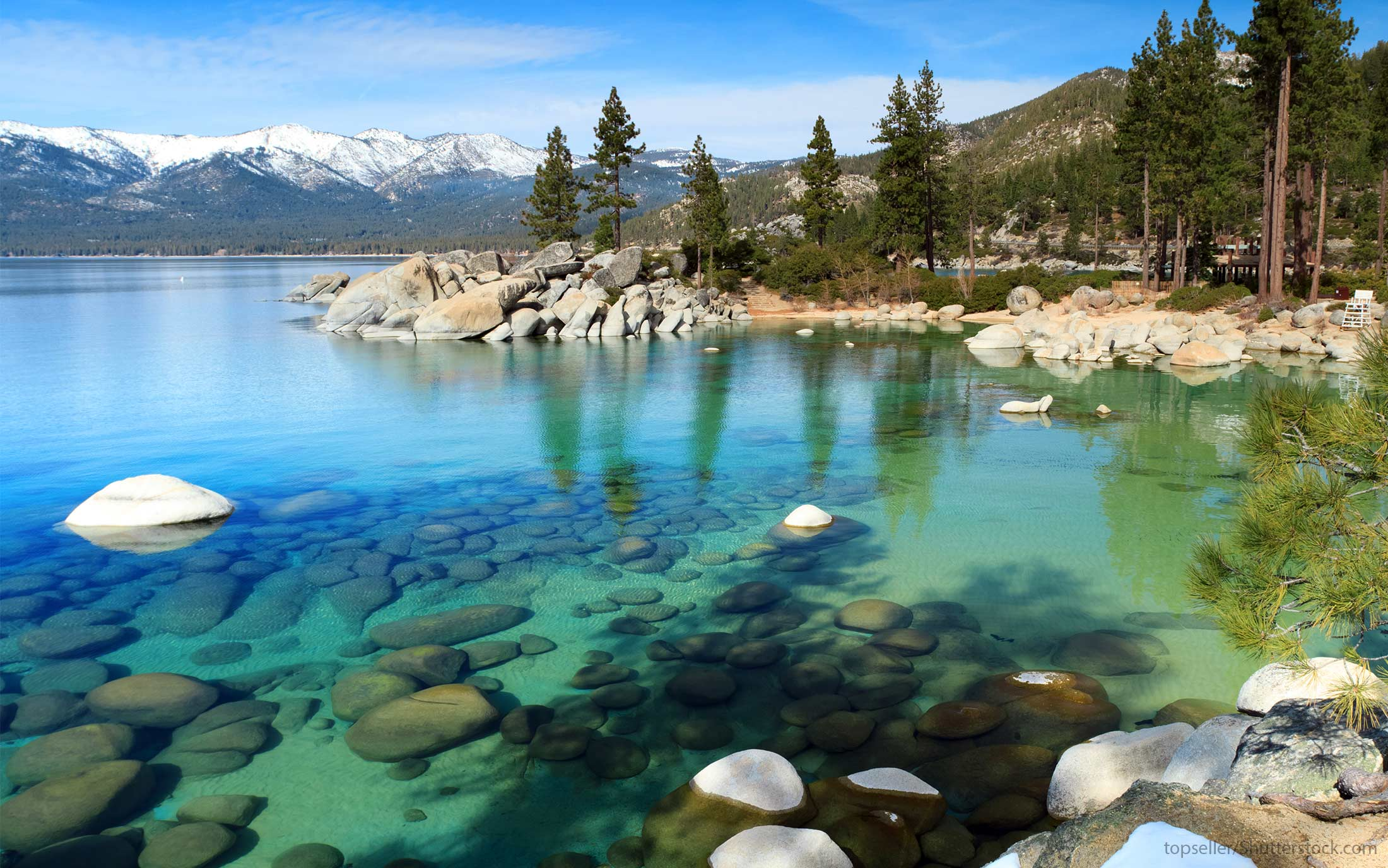Slide 4 of 32: Meals: $282Drinks (including beer): $38.163-night hotel stay: $244Airfare: $674.66Lake Tahoe might be known as one of the most beautiful winter wonderlands in the U.S., but it's still beautiful during the fall. Plus, it's much cheaper than many other popular destinations on this list — especially when it comes to hotel costs.
