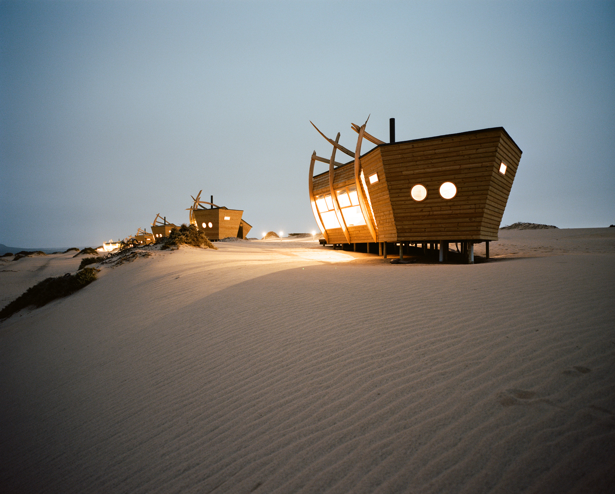 Slide 59 of 77: Shipwreck Lodge (Skeleton Coast National Park, Namibia)