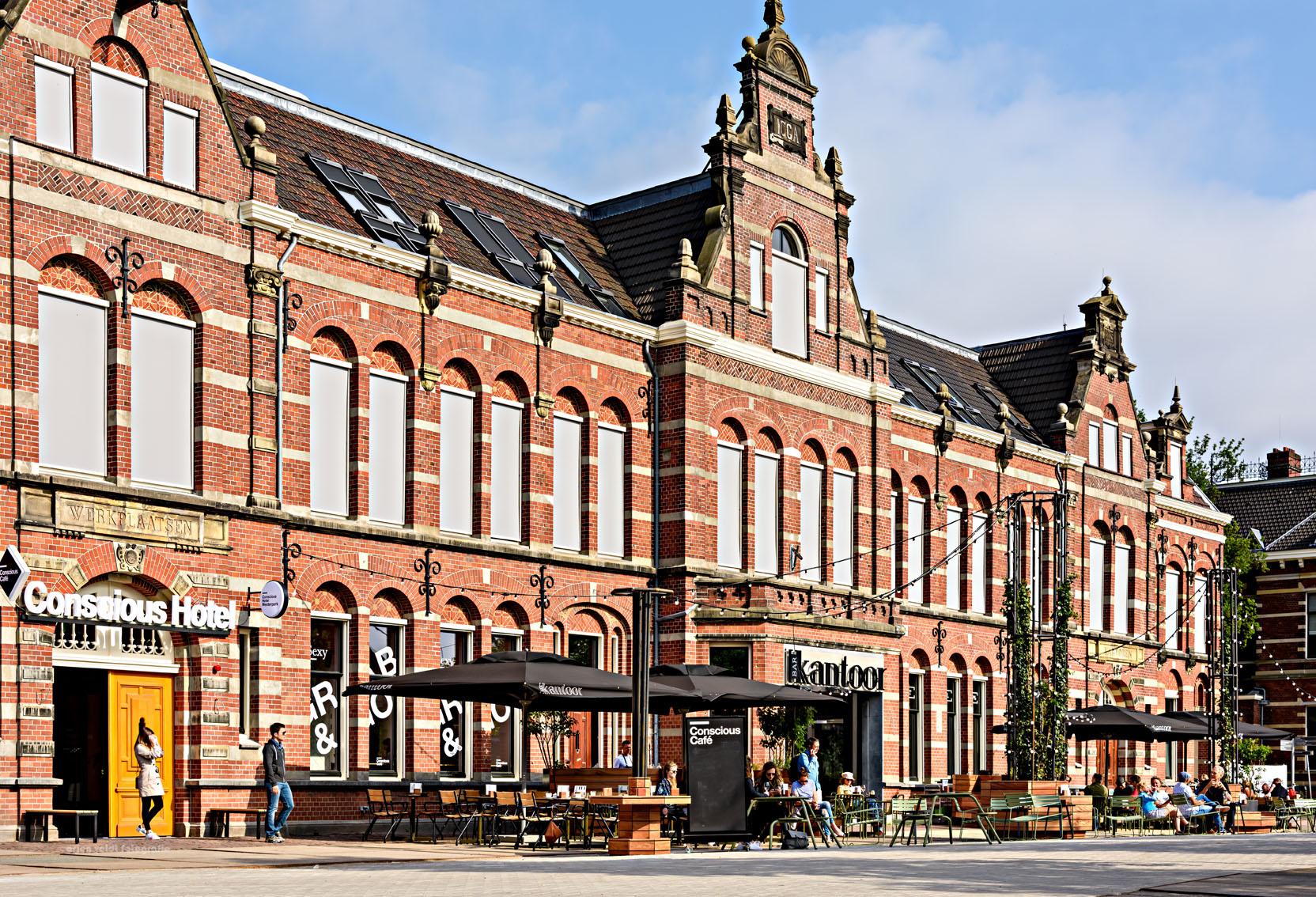 Slide 50 of 77: Conscious Hotel Westerpark (Amsterdam, Netherlands)