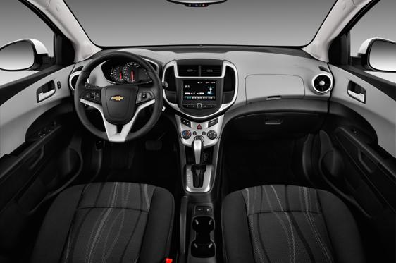 2019 Chevrolet Sonic Sedan Lt Automatic Interior Photos