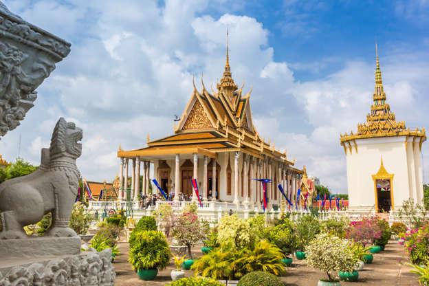 Slide 4 of 20: Royal Palace, Cambodia