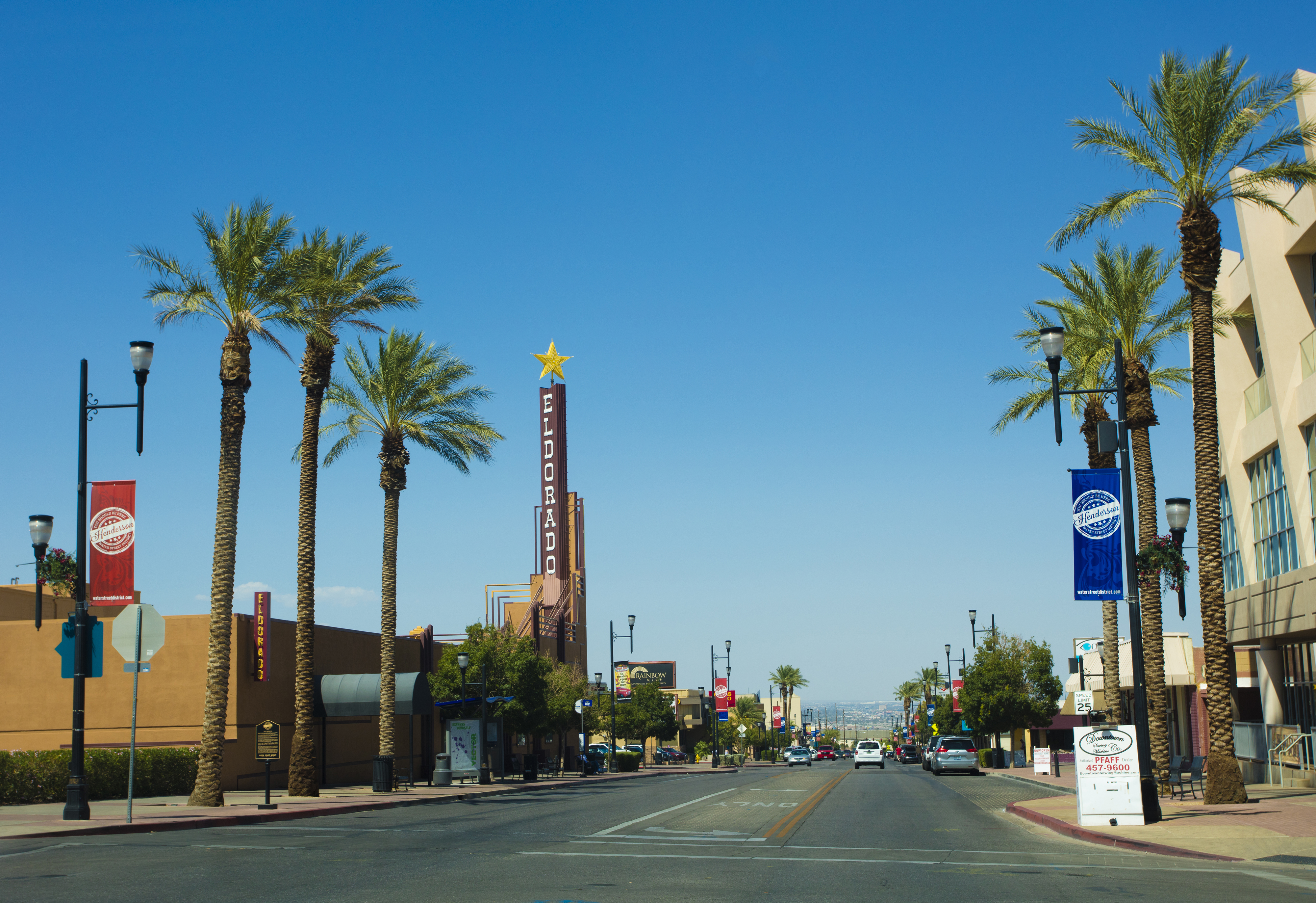Slide 14 of 23: Henderson, USA - September 12, 2016: An editorial stock photo of Henderson, Nevada. Photographed using the Canon EOS 5DSR.