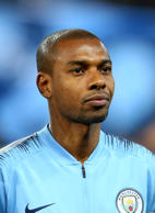 MANCHESTER, ENGLAND - SEPTEMBER 19: Fernandinho Luiz Roza of Manchester City ahead of the Champions League match between Manchester City and Olympique Lyonnais at The Etihad Stadium on September 19, 2018 in Manchester, United Kingdom. (Photo by Chloe Knott - Danehouse/Getty Images)
