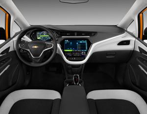 2019 Chevrolet Bolt Ev Interior Photos Msn Autos