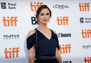 "Actor Keira Knightley arrives for the Canadian premiere of the movie ""Colette"" at the Toronto International Film Festival (TIFF) in Toronto, Ontario, Canada September 11, 2018. REUTERS/Mario Anzuoni"