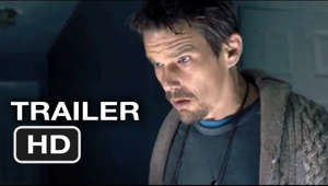 Subscribe to TRAILERS: http://bit.ly/sxaw6h Subscribe to COMING SOON: http://bit.ly/H2vZUn Sinister Official Trailer #1 (2012) - Ethan Hawke Horror Movie HD  Found footage helps a true-crime novelist realize how and why a family was murdered in his new home, though his discoveries put his entire family in the path of a supernatural entity.
