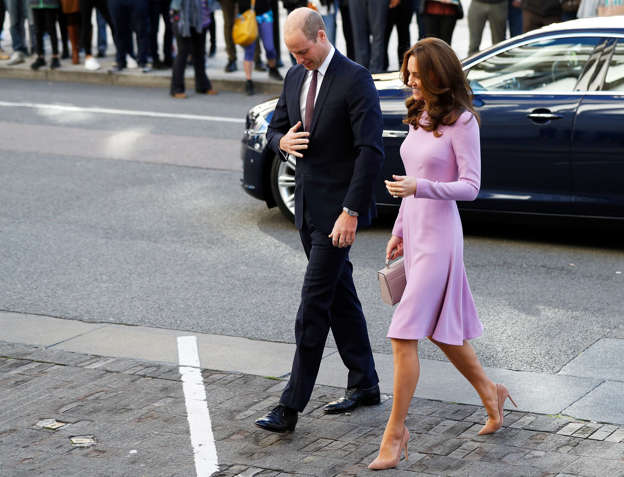 85005bf48fffe Kate Middleton recycles her favourite Emilia Wickstead dress at the ...