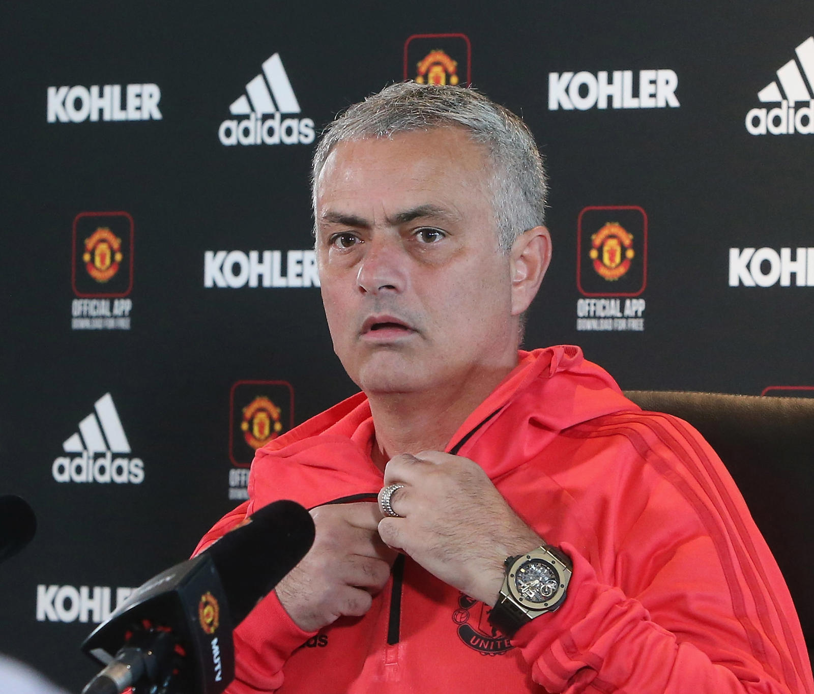 Jose Mourinho has lost all three games at Stamford Bridge since becoming Manchester United manager