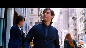 "Tobey Maguire et al. standing in front of a window: The Cool Peter Parker - Evil Dance (Scene) - Spider-Man 3 (2007) Movie CLIP HD [1080p HD]  TM & © Sony (2007)  Fair use. Copyright Disclaimer Under Section 107 of the Copyright Act 1976, allowance is made for ""fair use"" for purposes such as criticism, comment, news reporting, teaching, scholarship, and research. Fair use is a use permitted by copyright statute that might otherwise be infringing. Non-profit, educational or personal use tips the balance in favor of fair use. No copyright infringement intended."