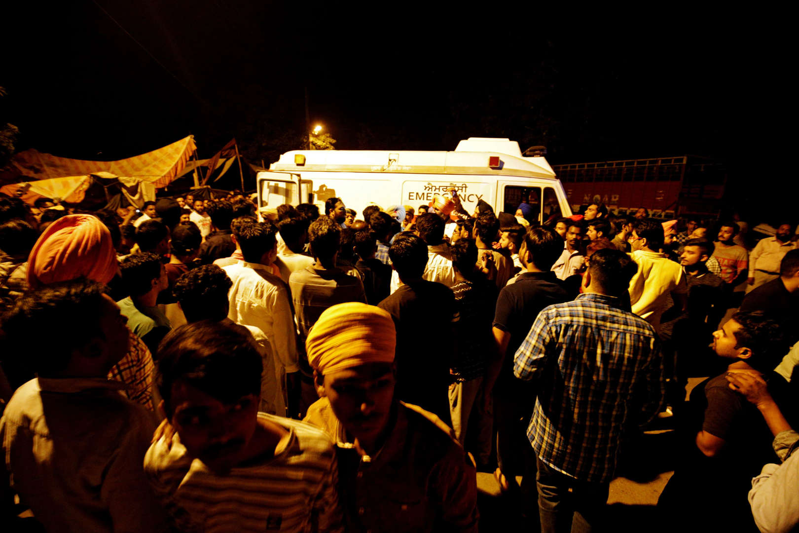 In photos: Amritsar train accident