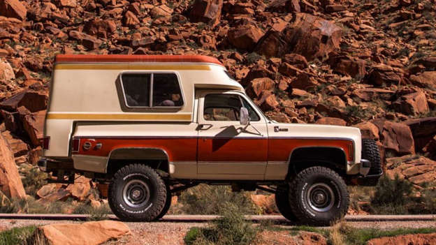 1976 Chevy Blazer Chalet Bed Camper Can Be Yours For Just
