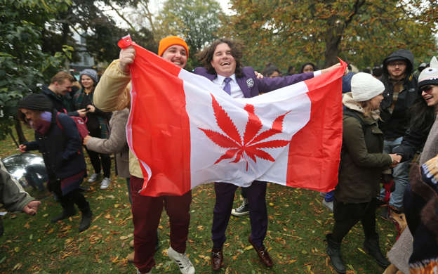 Canada is running out of marijuana two days after drug