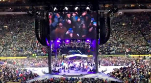 Go backstage with Garth Brooks as he makes history at Notre Dame Stadium