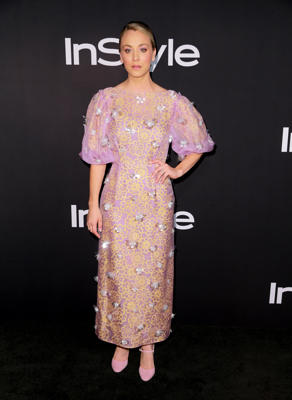 Kaley Cuoco attends the 2018 InStyle Awards at The Getty Center on October 22, 2018 in Los Angeles, California.  (Photo by Rich Fury/Getty Images)