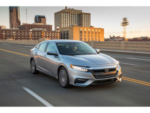 a car parked in a parking lot: 2019 Honda Insight