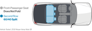 a drawing of a face: Cargo Space and Storage