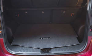 a desktop computer sitting on top of a car: Cargo Space and Storage