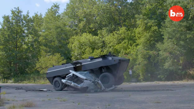 This Street Legal 8x8 Amphibious APC Is Ready For The Apocalypse