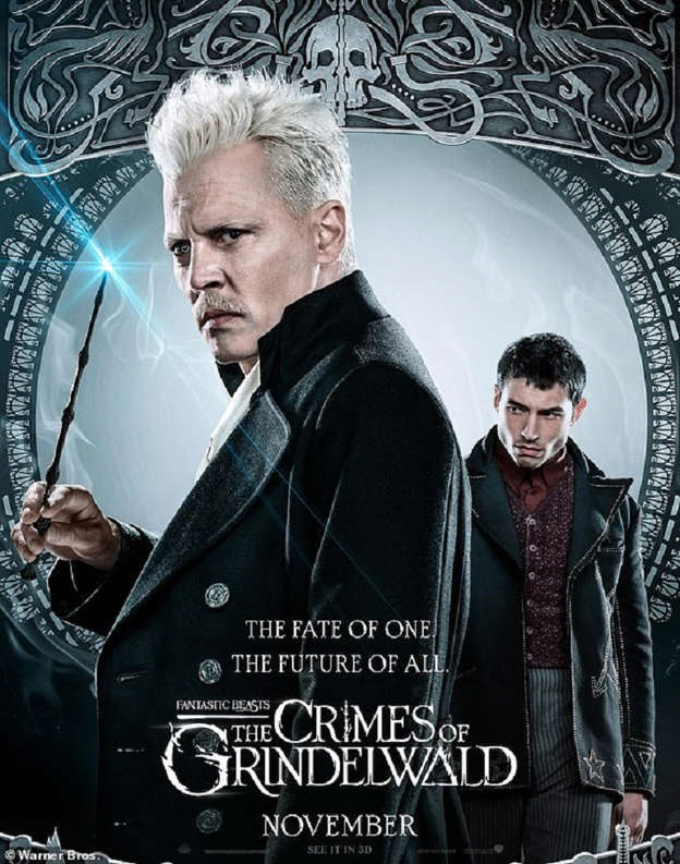 Johnny Depp And Eddie Redmayne Wield Their Wands In New Posters For