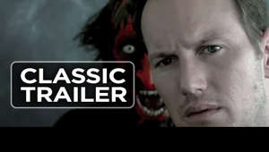 Patrick Wilson holding a sign: Subscribe to TRAILERS: http://bit.ly/sxaw6h Subscribe to COMING SOON: http://bit.ly/H2vZUn Subscribe to CLASSIC TRAILERS: http://bit.ly/1u43jDe Like us on FACEBOOK: http://goo.gl/dHs73 Follow us on TWITTER: http://bit.ly/1ghOWmt Insidious (2010) Official Trailer #1 - James Wan Movie HD   A family looks to prevent evil spirits from trapping their comatose child in a realm called The Further.  The Movieclips Trailers channel is your destination for hot new trailers the second they drop. Whether they are blockbusters, indie films, or that new comedy you've been waiting for, the Movieclips Trailers team is there day and night to make sure all the hottest new movie trailers are available whenever you need them, as soon as you can get them. All the summer blockbusters, Man of Steel, Oblivion, Pacific Rim, After Earth, The Lone Ranger, Star Trek Into Darkness and more! They are all available on Movieclips Trailers.  In addition to hot new trailers, the Movieclips Trailers page gives you original content like Ultimate Trailers, Instant Trailer Reviews, Monthly Mashups, and Meg's Movie News and more to keep you up-to-date on what's out this week and what you should be watching.