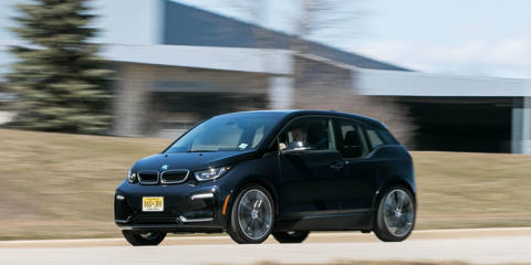 BMW's sport-tuned i3s brings slightly sharper handling and stronger performance to the fashionable electric car.