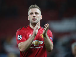 Luke Shaw is back in favour at Old Trafford this season