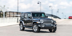 The Jeep Wrangler Uses a Mild-Hybrid Four-Cylinder Approach to Improve Fuel: The Wrangler gets its first hybrid powertrain, in an attempt to improve fuel economy.
