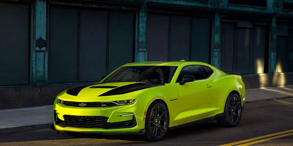 The 2019 Chevrolet Camaro Is Adding This Insane Yellow To Its