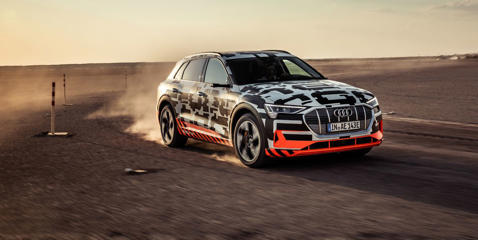 Audi's first real battery-electric vehicle is the e-tron SUV, which strives to be one of the family.