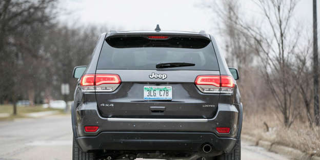 2019 Jeep Grand Cherokee Cargo Space And Storage