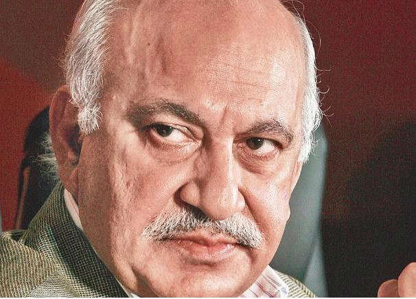 8 lines, 83 words: Read full text of MJ Akbar's resignation