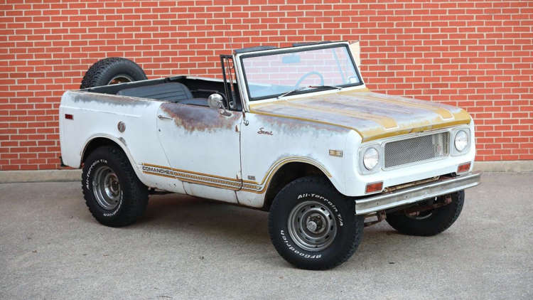 Rare International Scout Comanche Is 1 Of 1,500, And It's