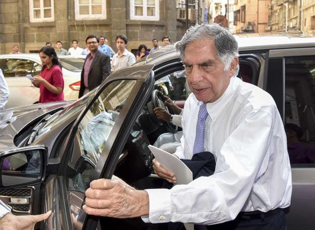 May Met Tata Patriarch Ratan As Jaguar Warns On Brexit Diesel Source