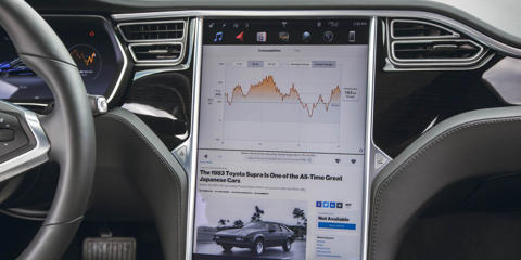 Just like the Tesla brand as a whole has disrupted the automotive industry, the Model S's infotainment system has pushed other automakers to step up their game.