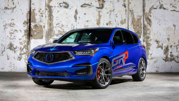Assortment Of Awesome Acuras Arrive At SEMA