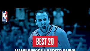 As we celebrate Manu Ginobili's 16 memorable seasons in the NBA, take a look at the best 20 plays from his career!  Subscribe to the NBA: http://bit.ly/2rCglzY  For news, stories, highlights and more, go to our official website at http://www.nba.com  Get NBA LEAGUE PASS: http://www.nba.com/leaguepass