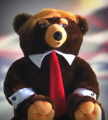 'Trumpy Bear' with hair puts a presidential twist on the teddy bear
