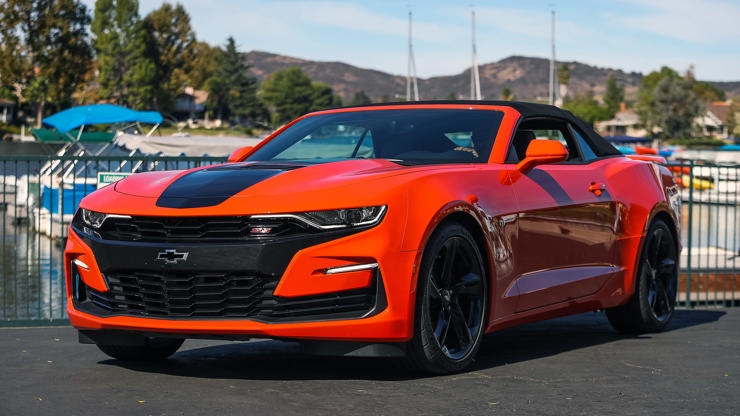 2019 Chevy Camaro Ss 10 Speed First Drive Review Shifting