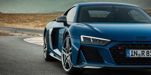 The 2019 Audi R8 Supercar Won't Get a V-6 Engine: The facelifted Audi R8 won't get a V-6 engine, instead sticking with the V-10, the company confirmed to C/D.