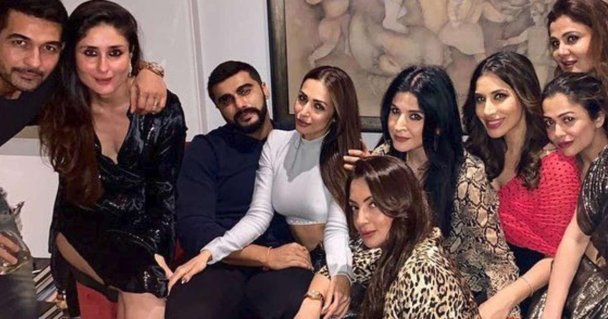 Arjun Kapoor has a protective arm around rumoured girlfriend Malaika