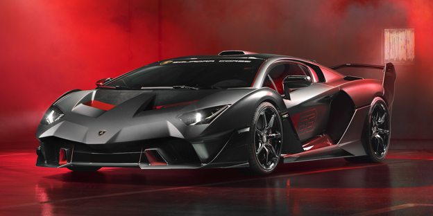 Lamborghini Built This V12 Carbon Fiber Trackday Beast For One Very