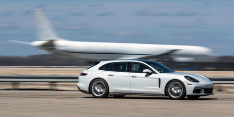 We test the Panamera Sport Turismo-the wagon version of Porsche's big four-door-in its two least expensive, but not exactly affordable, trim levels.