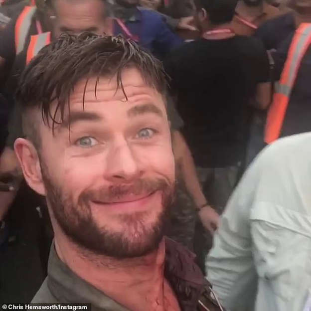 They Let Us Run Riot Through The Streets Chris Hemsworth