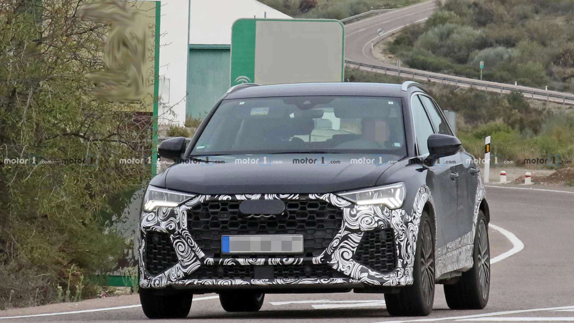 New Audi RS Q3 Spied Flaunting Oval Exhaust Tips